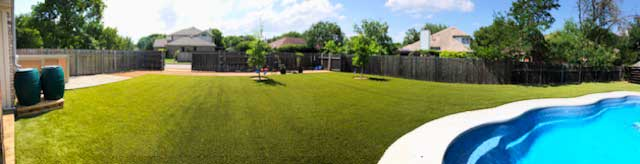 Best artificial grass company in Austin and San Antonio Texas SynLawn synblue 949